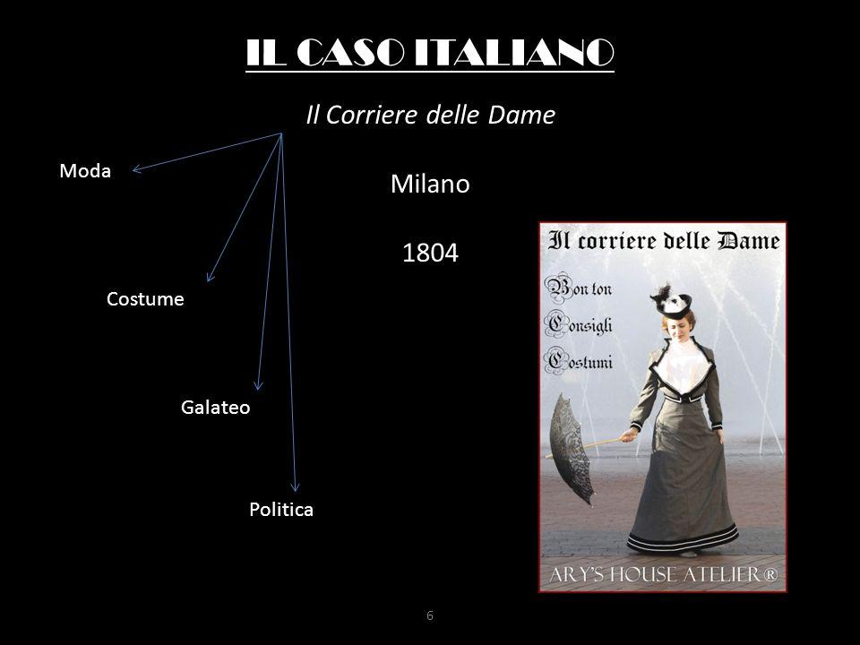 Il Corriere delle Dame Milano 1804