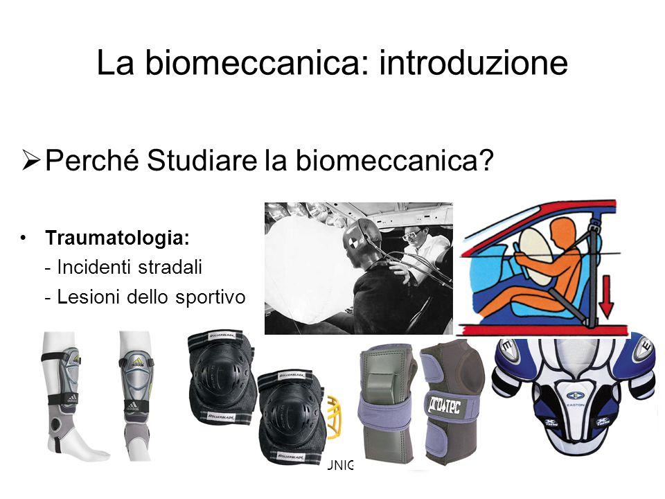 La biomeccanica: introduzione