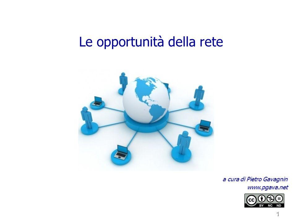 Le opportunità della rete