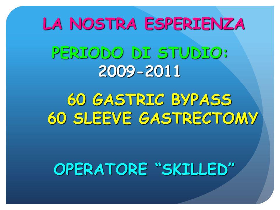 LA NOSTRA ESPERIENZA PERIODO DI STUDIO: 2009-2011.