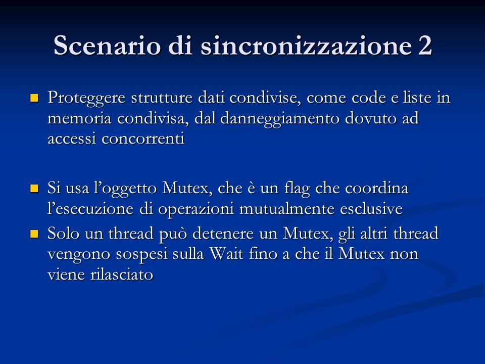 Scenario di sincronizzazione 2