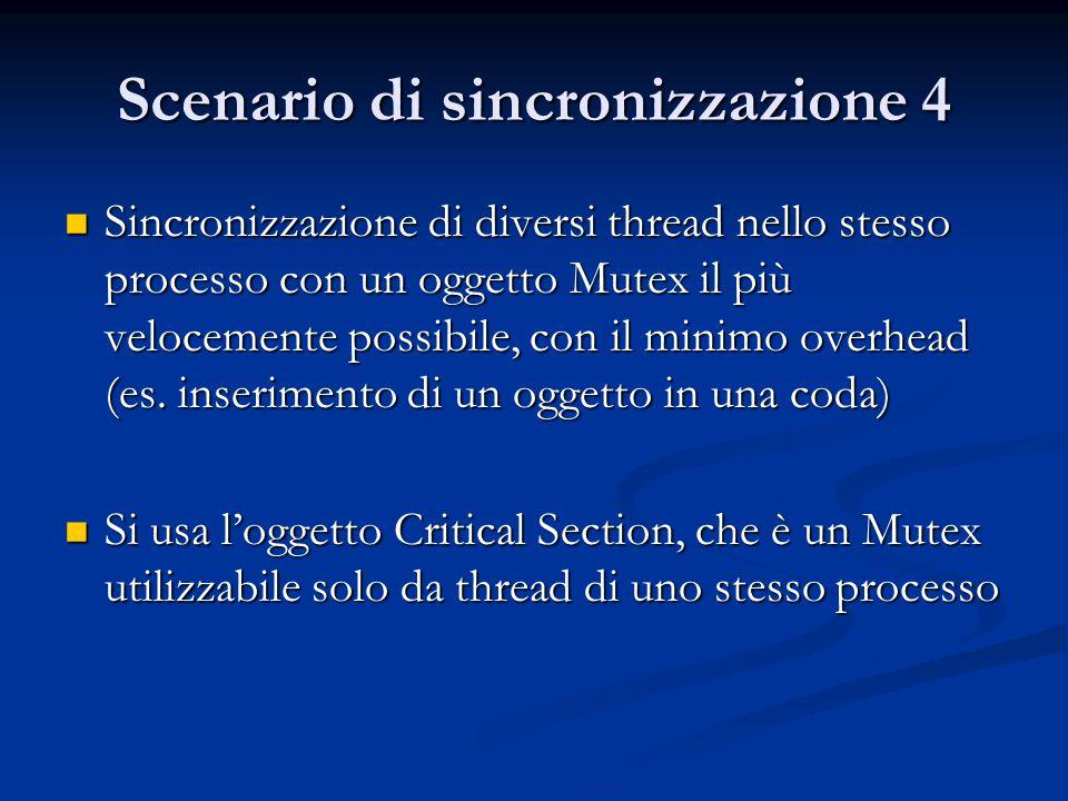 Scenario di sincronizzazione 4