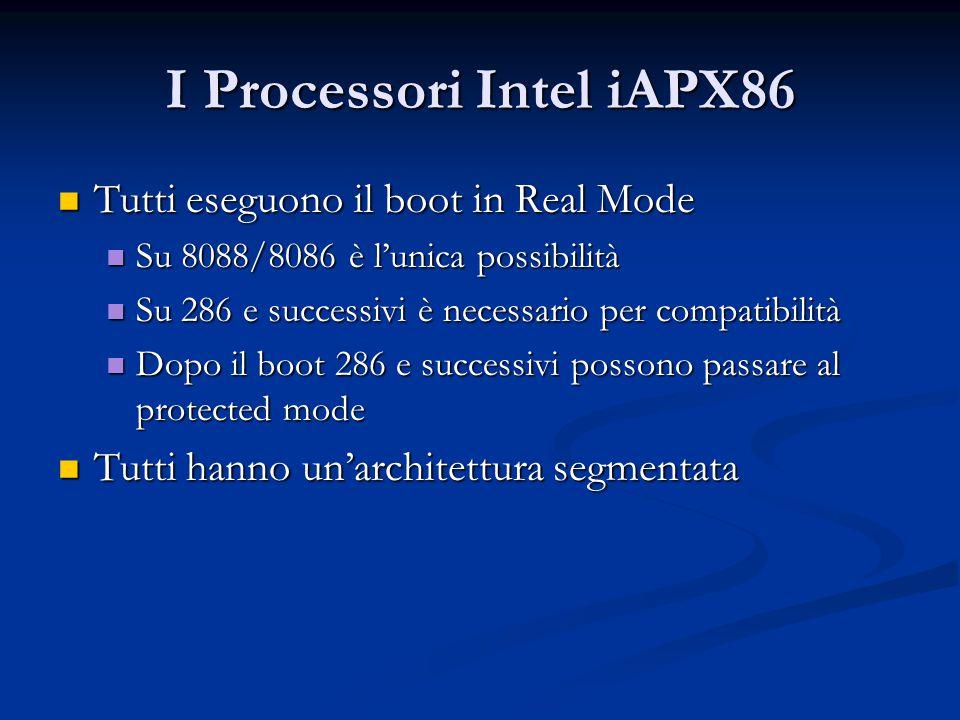 I Processori Intel iAPX86
