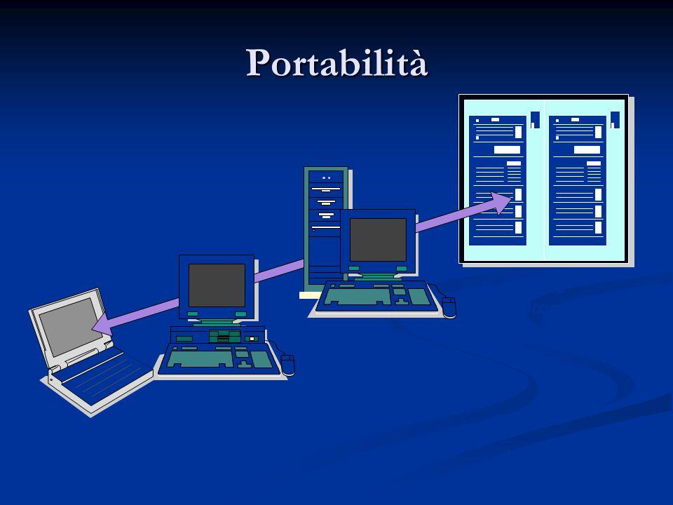 Portabilità Laptop Computer Personal Server Symmetric Multiprocessors
