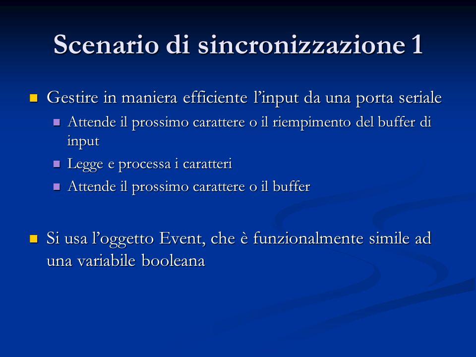 Scenario di sincronizzazione 1