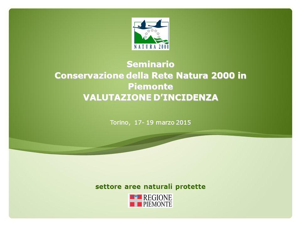 Conservazione della Rete Natura 2000 in Piemonte