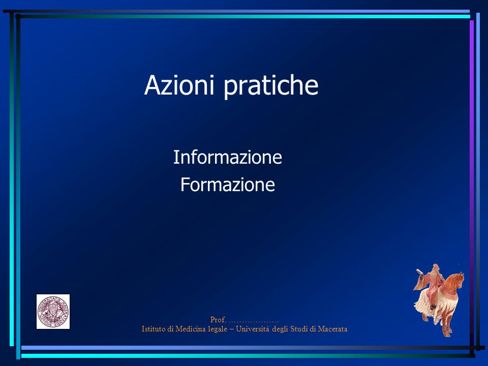 Informazione Formazione
