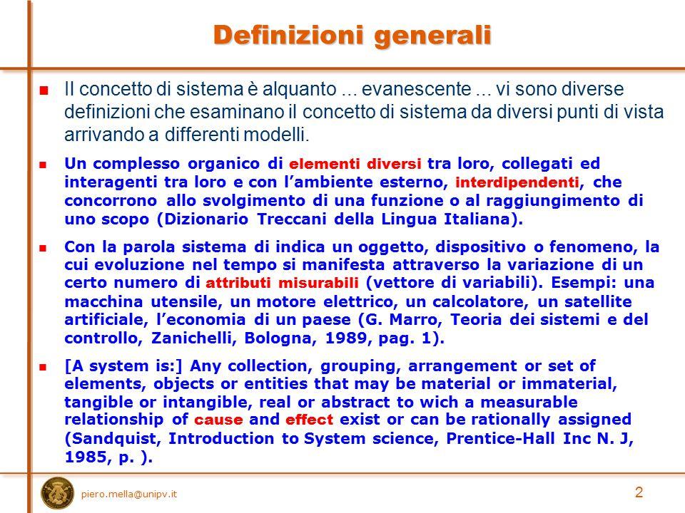 Definizioni generali