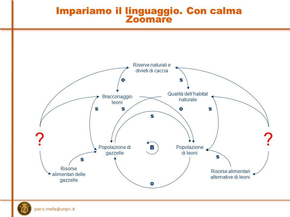 Impariamo il linguaggio. Con calma Zoomare