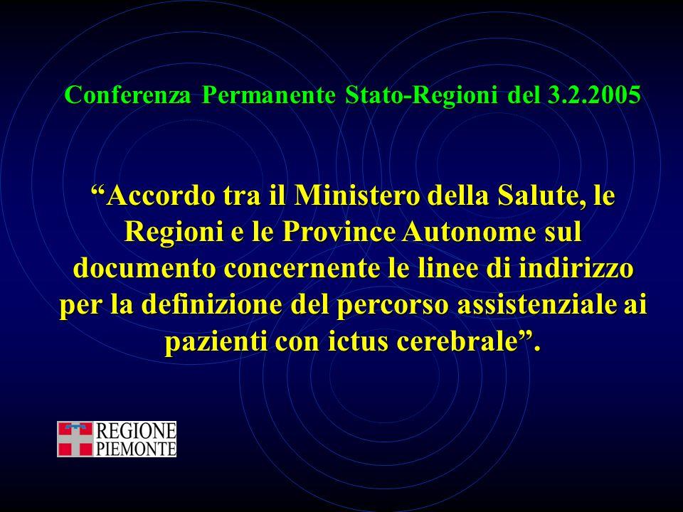 Conferenza Permanente Stato-Regioni del 3.2.2005