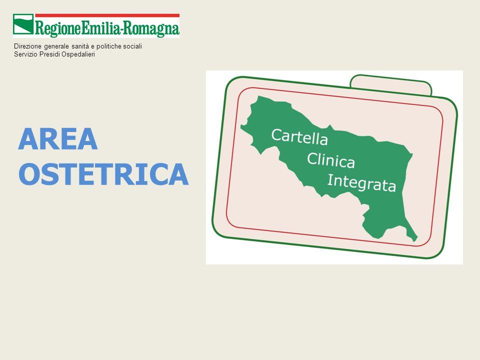 AREA OSTETRICA Direzione generale sanità e politiche sociali