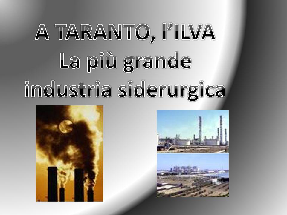 La più grande industria siderurgica