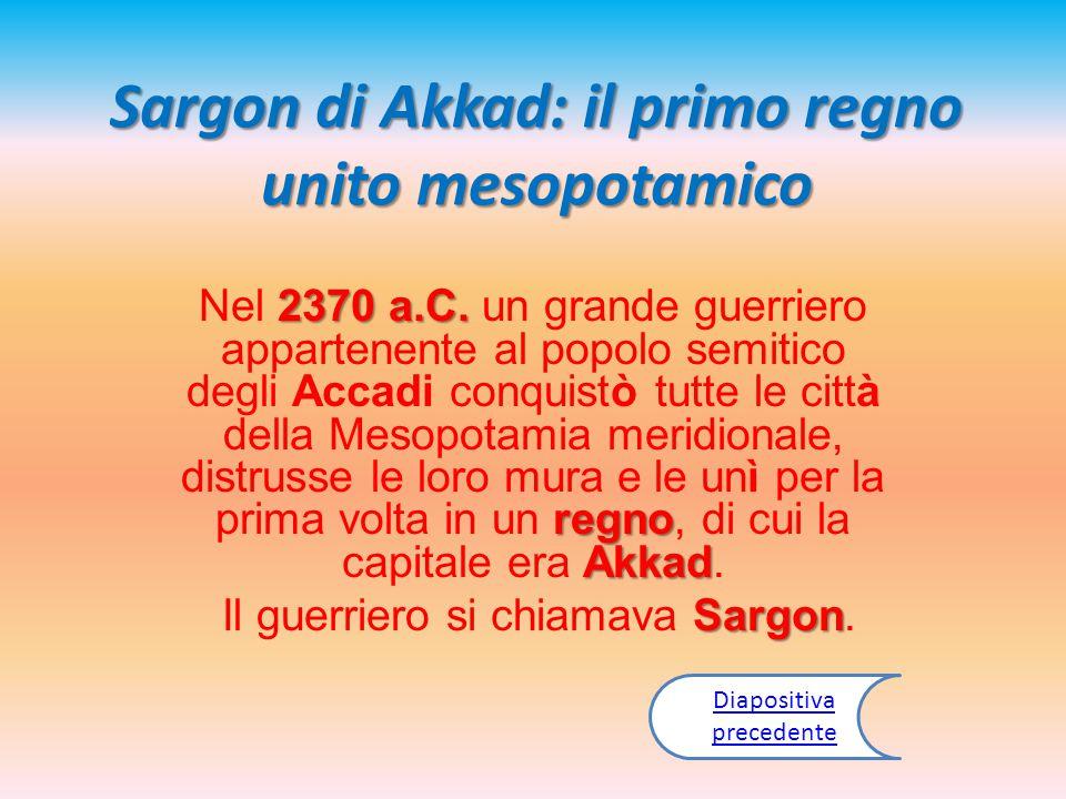 Sargon di Akkad: il primo regno unito mesopotamico
