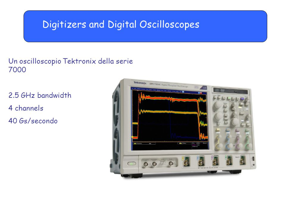 Digitizers and Digital Oscilloscopes