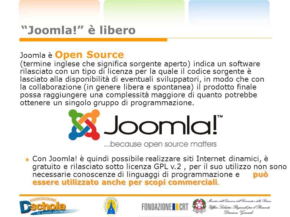 Joomla! è libero