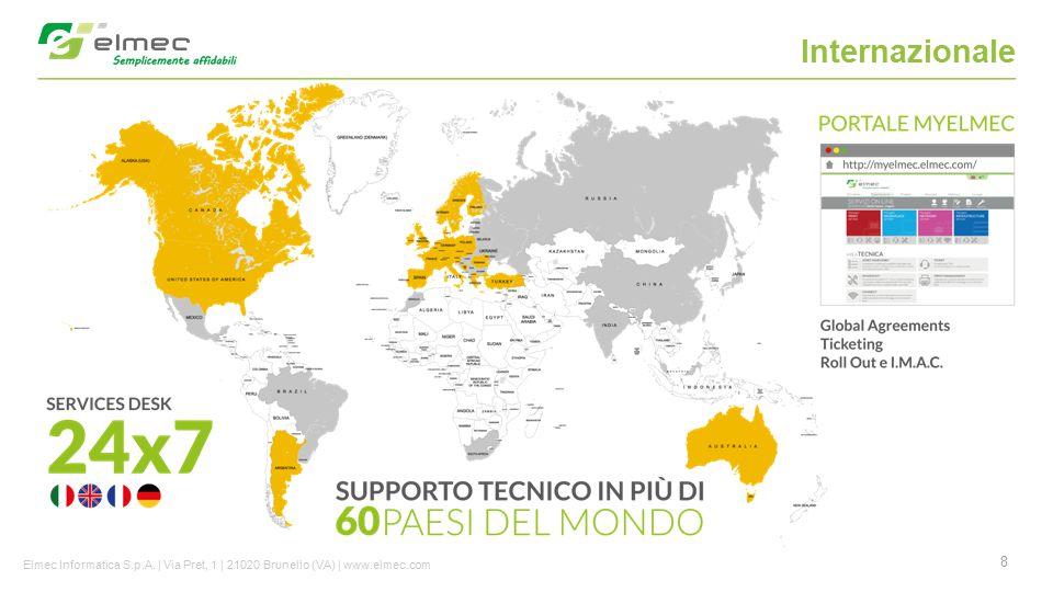 Internazionale Elmec Informatica S.p.A. | Via Pret, 1 | 21020 Brunello (VA) | www.elmec.com