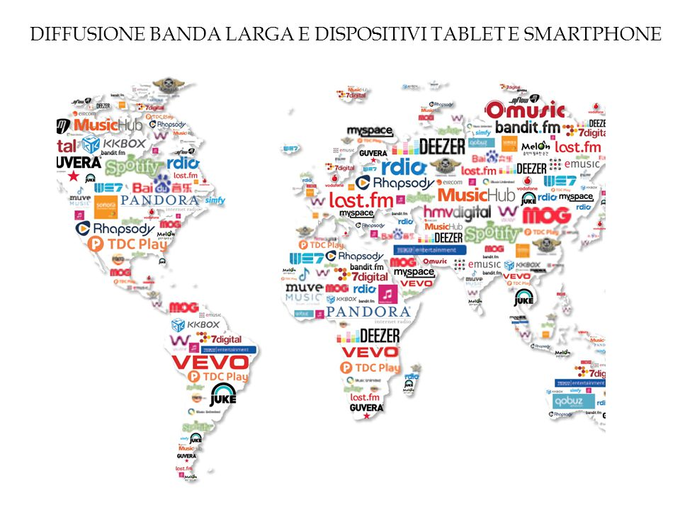 DIFFUSIONE BANDA LARGA E DISPOSITIVI TABLET E SMARTPHONE