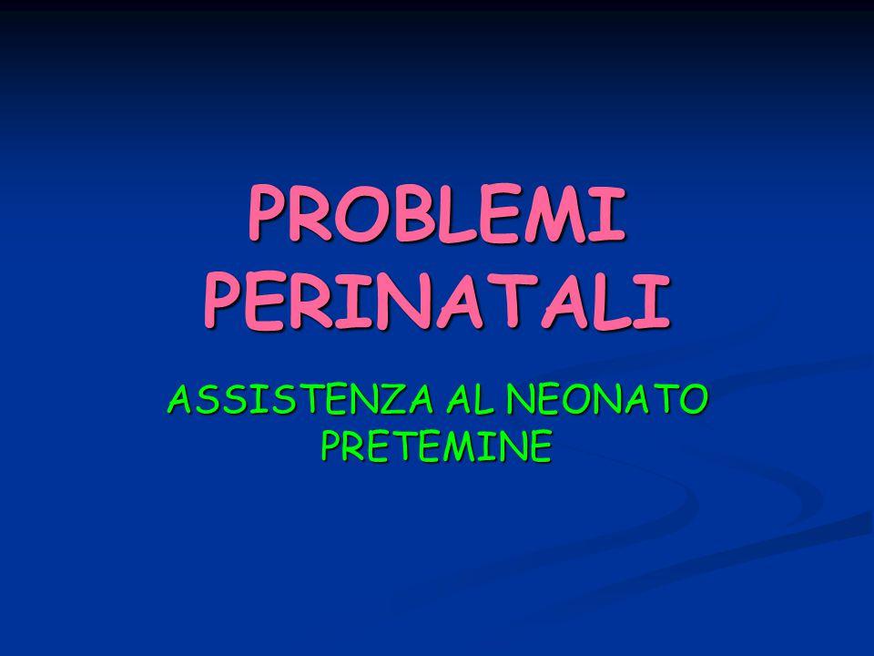 ASSISTENZA AL NEONATO PRETEMINE