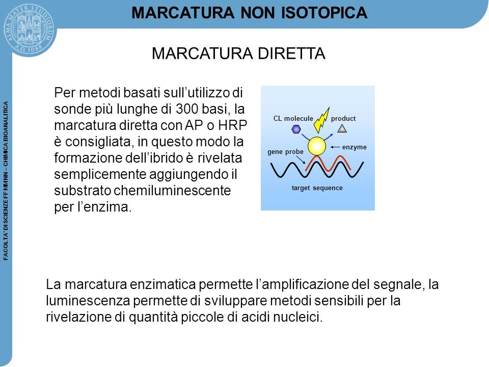 MARCATURA NON ISOTOPICA