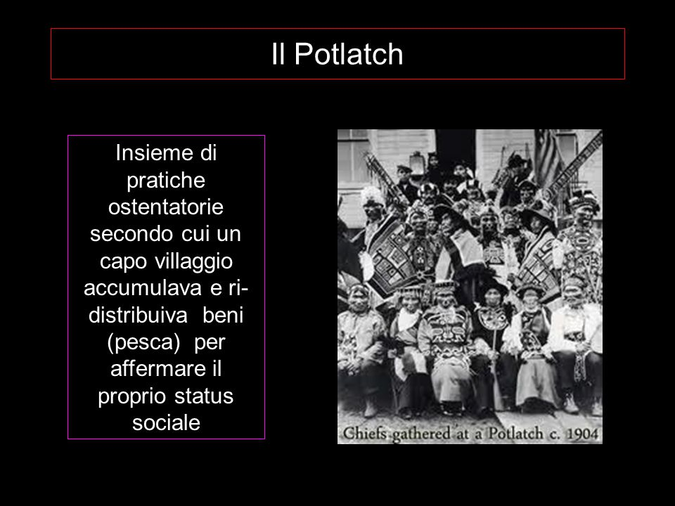 Il Potlatch