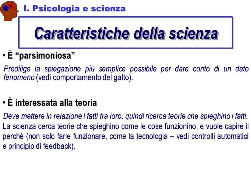Caratteristiche della scienza