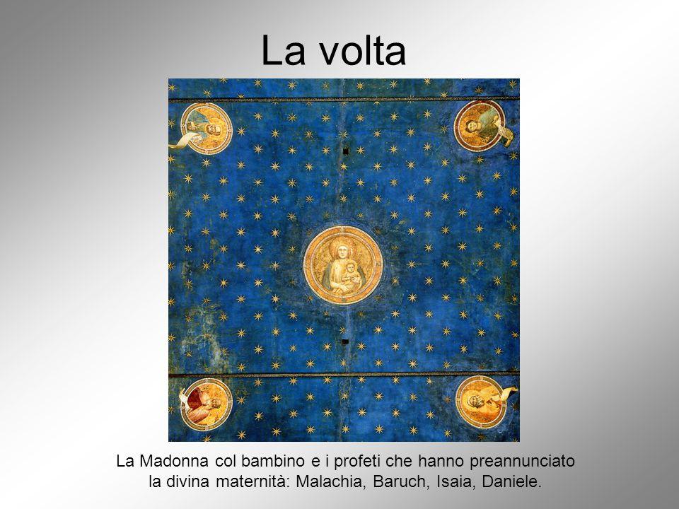 La volta La Madonna col bambino e i profeti che hanno preannunciato
