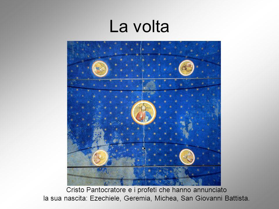 La volta Cristo Pantocratore e i profeti che hanno annunciato