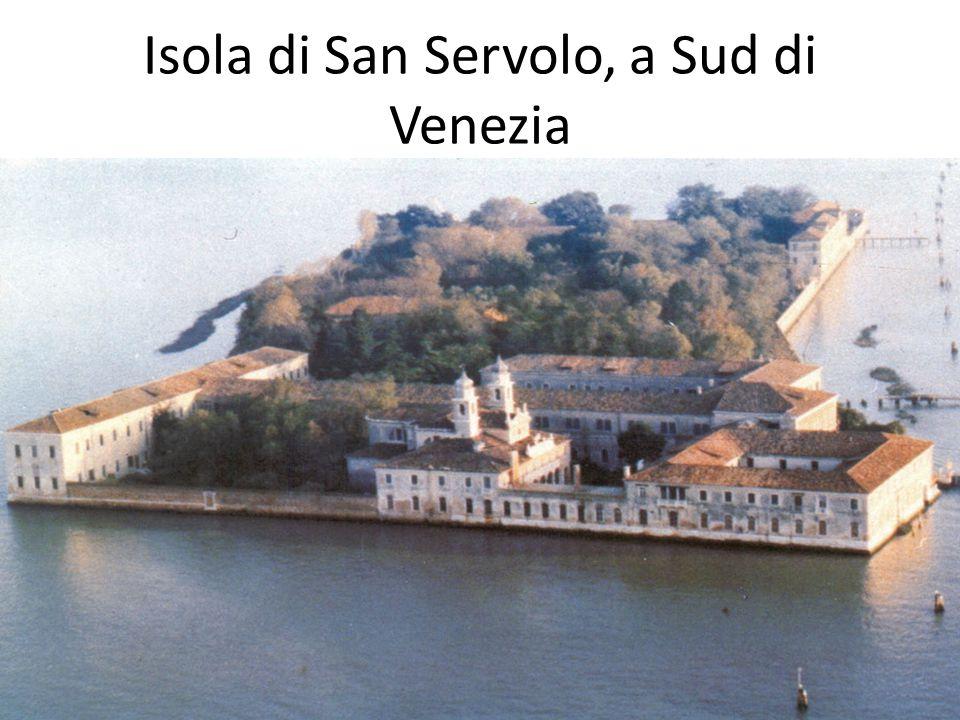 Isola di San Servolo, a Sud di Venezia