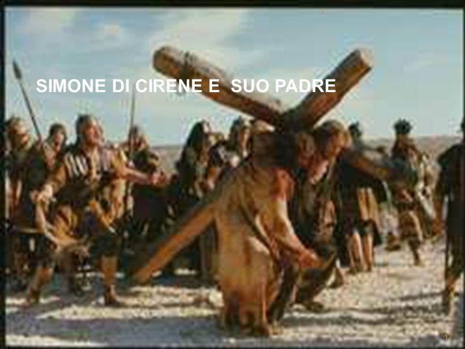 SIMONE DI CIRENE E SUO PADRE
