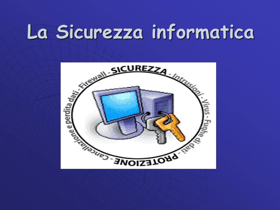 La Sicurezza informatica