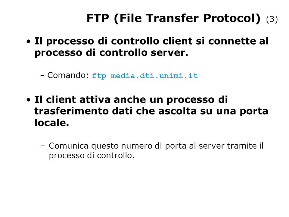 FTP (File Transfer Protocol) (3)