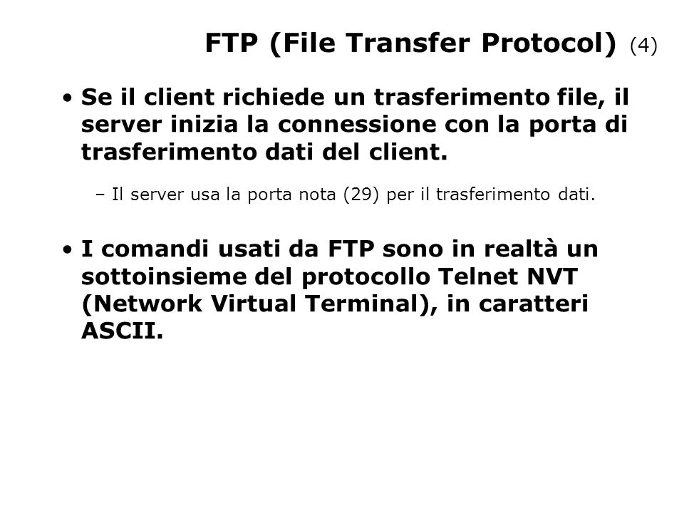 FTP (File Transfer Protocol) (4)