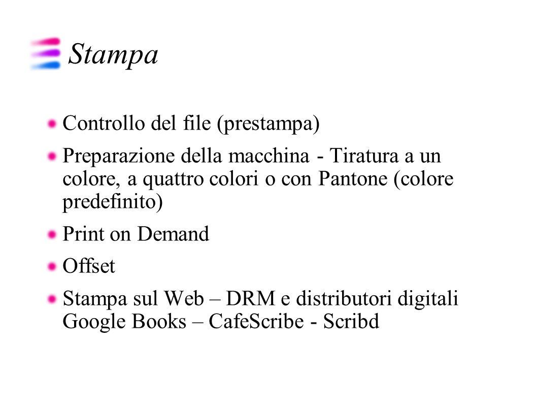 Stampa Controllo del file (prestampa)
