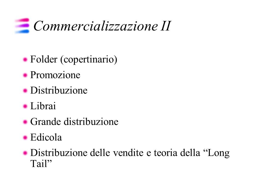 Commercializzazione II