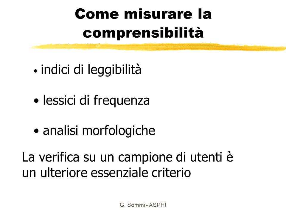 Come misurare la comprensibilità