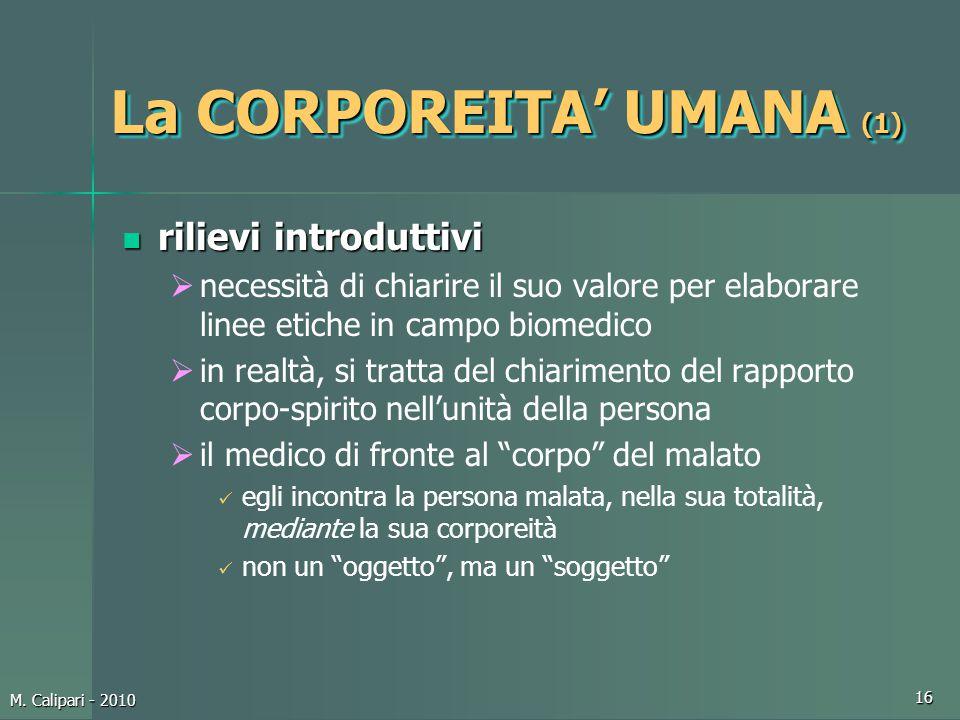 La CORPOREITA' UMANA (1)