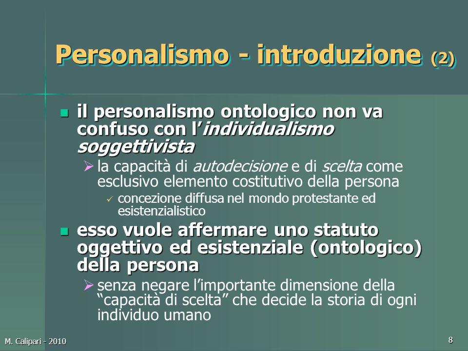 Personalismo - introduzione (2)