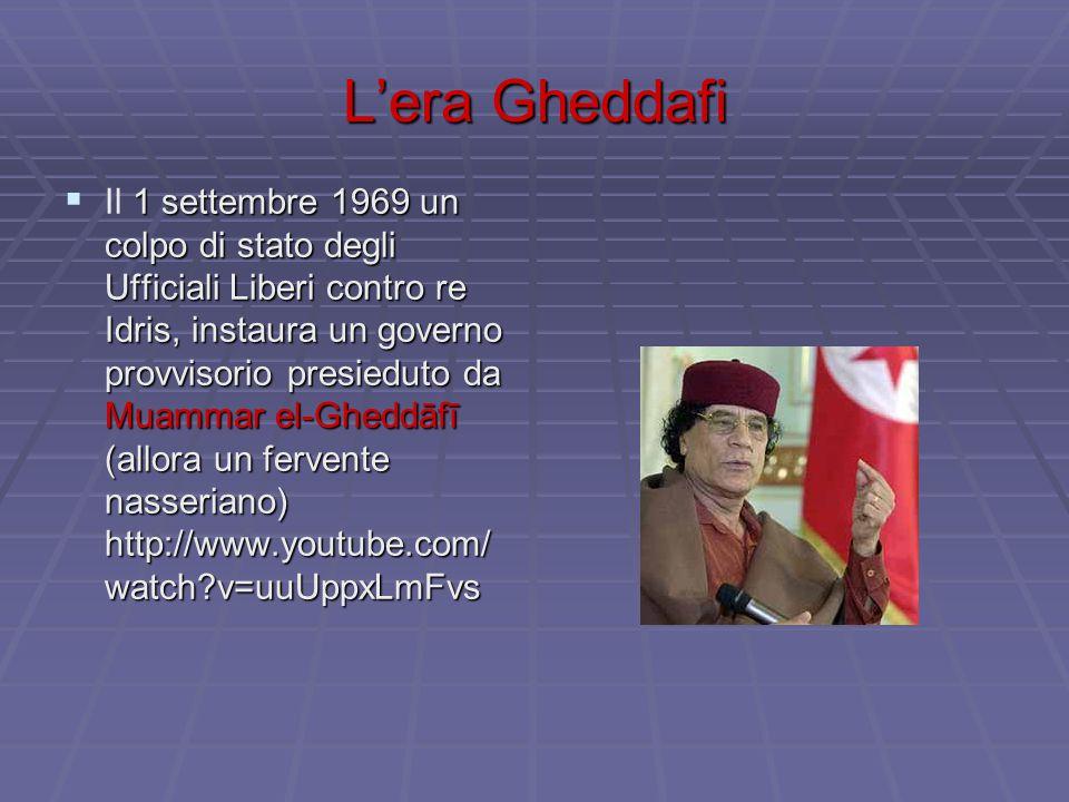 L'era Gheddafi