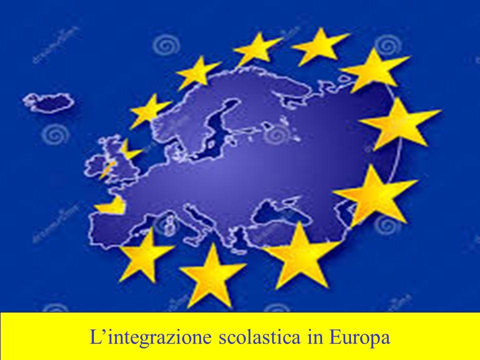 L'integrazione scolastica in Europa