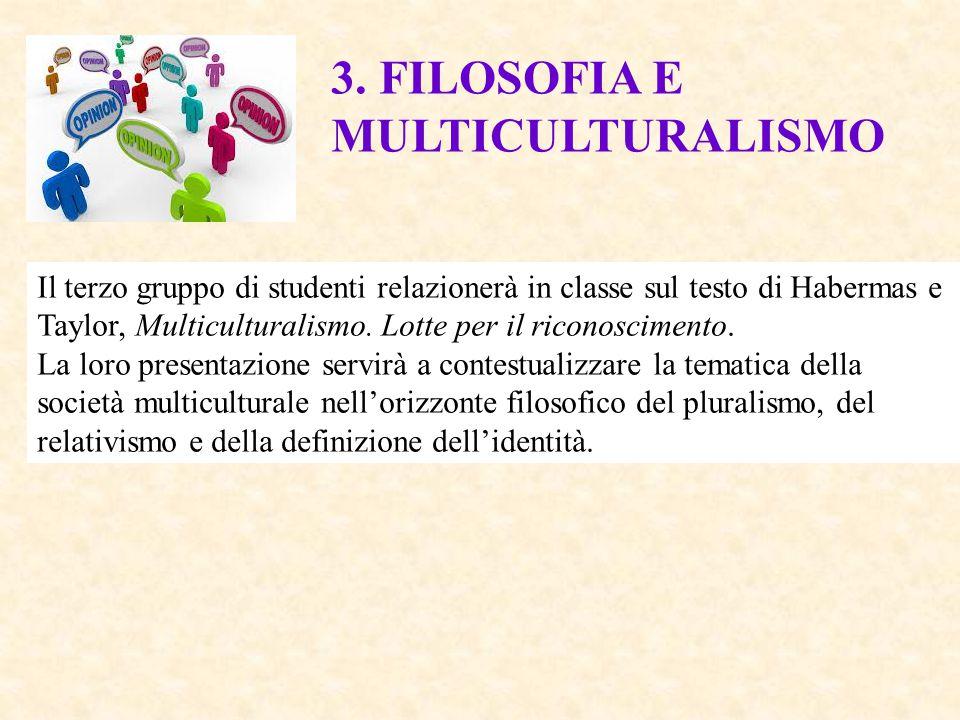 3. FILOSOFIA E MULTICULTURALISMO