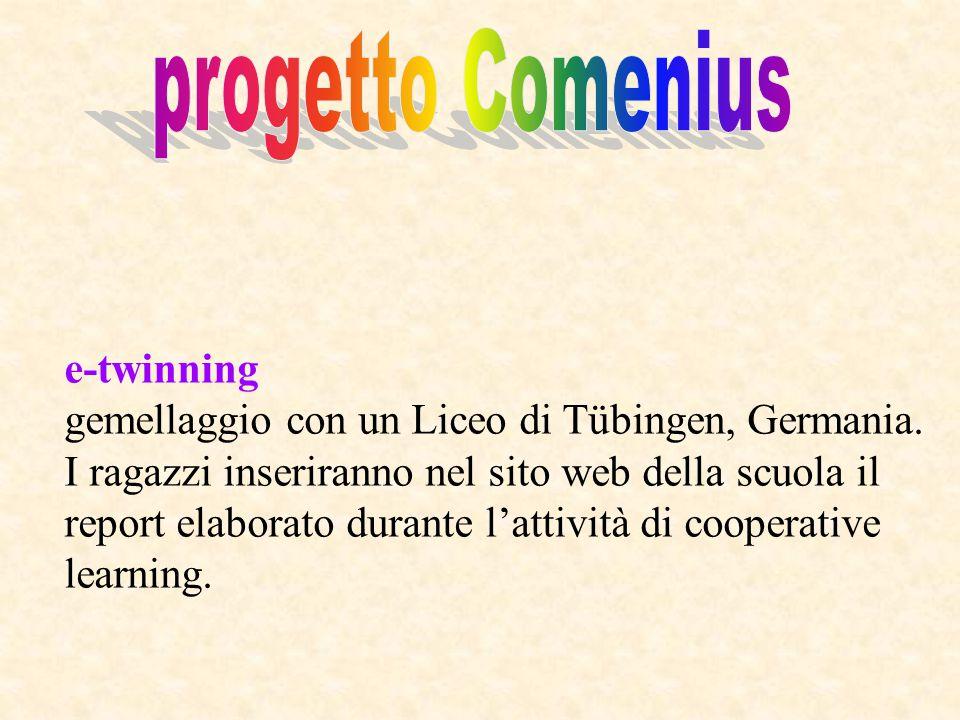 progetto Comenius e-twinning
