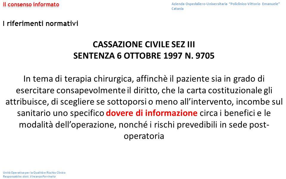 CASSAZIONE CIVILE SEZ III