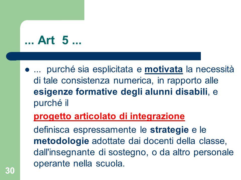 ... Art 5 ...