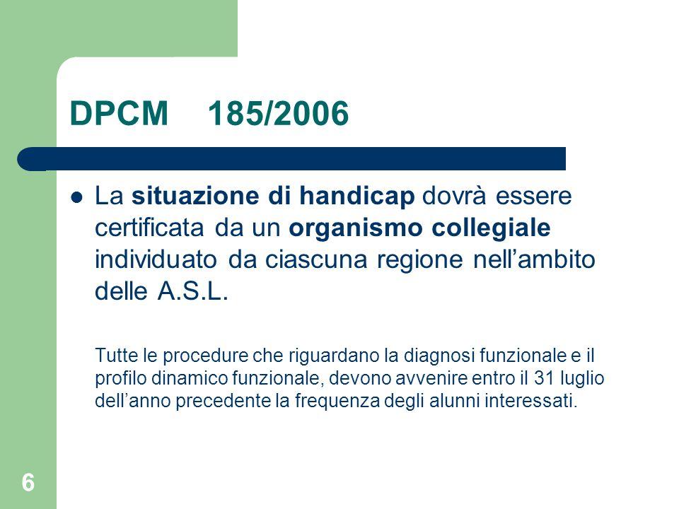 DPCM 185/2006