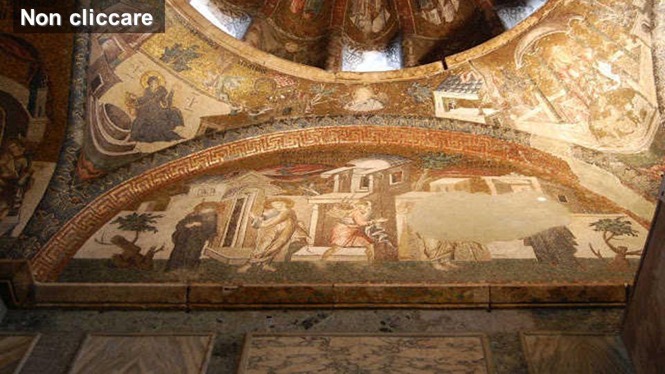Non cliccare Immagini della chiesa di Kariye-Cadmi (Istanbul) uno dei più belli esempi d'arte bizantina (inizi V secolo)