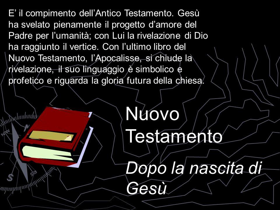 Nuovo Testamento Dopo la nascita di Gesù