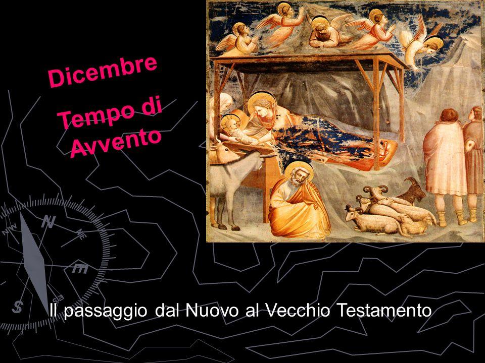 Il passaggio dal Nuovo al Vecchio Testamento