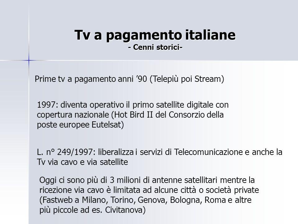 Tv a pagamento italiane