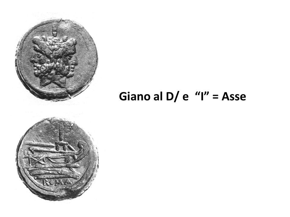 Giano al D/ e I = Asse