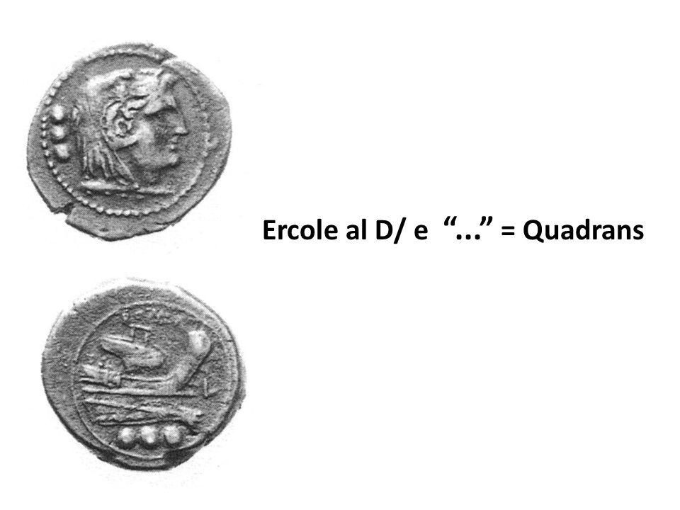 Ercole al D/ e ... = Quadrans